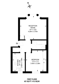 Large floorplan for Beaconsfield Road, Willesden, NW10
