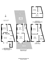 Large floorplan for Farleigh Road, Stoke Newington, N16