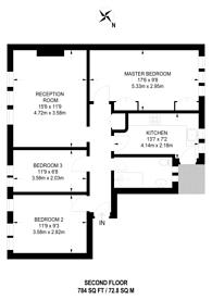 Large floorplan for Devonshire Road, Hatch End, HA5