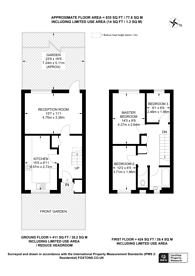 Large floorplan for Beverley Road, Anerley, SE20