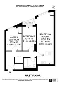 Large floorplan for Bensham Lane, Croydon, CR0