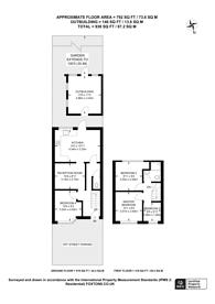 Large floorplan for Lansbury Avenue, Feltham, TW14
