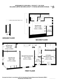 Large floorplan for Keslake Road, Queen's Park, NW6