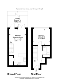 Large floorplan for Church Mead, Camberwell, SE5