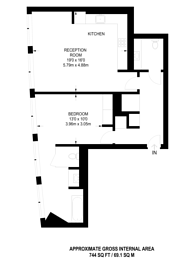 Large floorplan for New Oxford street, Covent Garden, WC1A