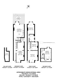 Large floorplan for Halsmere Road, Camberwell, SE5