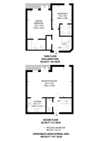 Large floorplan for Magdalene Gardens, Oakleigh Park, N20