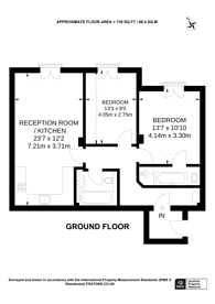 Large floorplan for Russell Road, Holland Park, W14