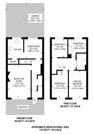 Large floorplan for Carbis Road, Limehouse, E14