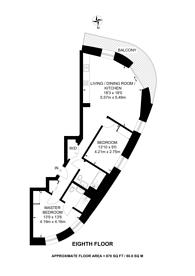 Large floorplan for Anthology Wembley Parade, Wembley, HA9