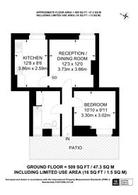 Large floorplan for Clayton Street, SE11, Oval, SE11