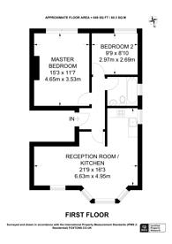 Large floorplan for Worple Road, Wimbledon, SW20