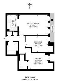 Large floorplan for London Road, Croydon, CR0