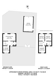 Large floorplan for Brent Place, High Barnet, EN5