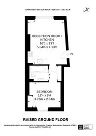 Large floorplan for St Stephens Crescent, Notting Hill, W2