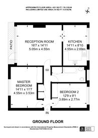 Large floorplan for Basinghall Gardens, Sutton, SM2