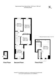 Large floorplan for Shirland road, Maida Vale, W9