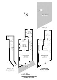 Large floorplan for Bevington Road, North Kensington, W10