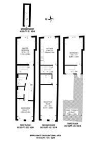 Large floorplan for Hoxton Street, Hoxton, N1