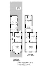 Large floorplan for Astbury Road, Peckham, SE15