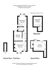 Large floorplan for Bronsart Road, Munster Village, SW6