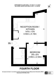 Large floorplan for High Street, Central Croydon, CR0