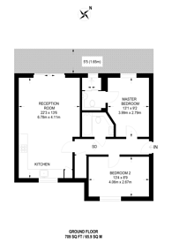 Large floorplan for Alscot Road, Bermondsey, SE1