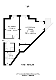 Large floorplan for Stafford Road, Queen's Park, NW6