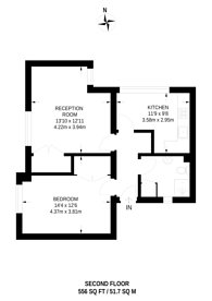 Large floorplan for Loweswater Close, North Wembley, HA9