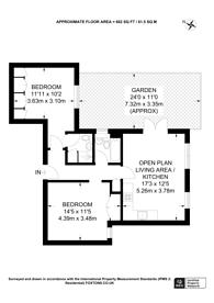 Large floorplan for Kingston Road, Raynes Park, SW20