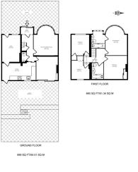 Large floorplan for Wood End Road, Harrow, HA1