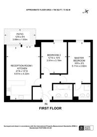 Large floorplan for Ebb Court, Gallions Reach, E16