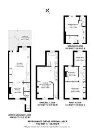 Large floorplan for Ellesmere Road, Victoria Park, E3