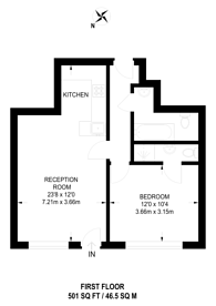 Large floorplan for Renown Close, West Croydon, CR0