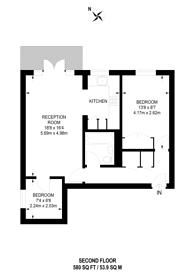 Large floorplan for Broomhill Road, Wandsworth, SW18