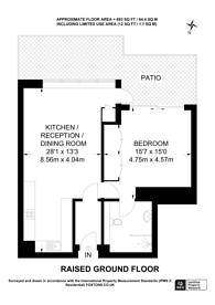 Large floorplan for Thames Quay, Chelsea Harbour, Chelsea, SW10