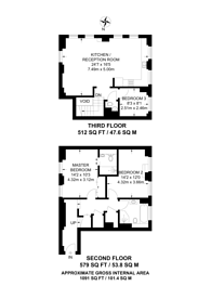Large floorplan for Bridewell Place, Wapping, E1W