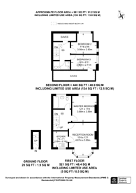 Large floorplan for Westbury Road, New Malden, KT3