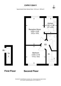 Large floorplan for Brooke Road, Stoke Newington, N16