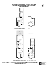 Large floorplan for Crabtree Lane, Bishop's Park, SW6
