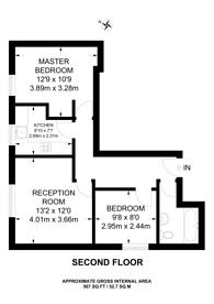 Large floorplan for Goulston Street, City, E1