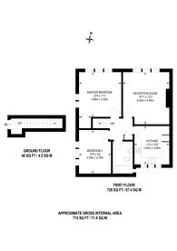 Large floorplan for Broadlawns Court, Harrow Weald, HA3