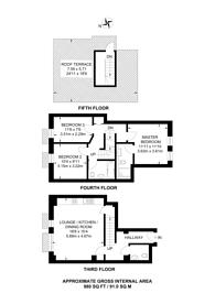 Large floorplan for Higgins House, Bermondsey, SE1