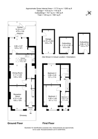 Large floorplan for Greenwood Road, Croydon, CR0