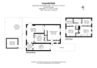 Large floorplan for Waldorf Close, South Croydon, CR2