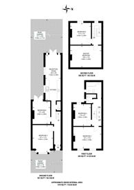 Large floorplan for Harringay Road, N15, Harringay, N15