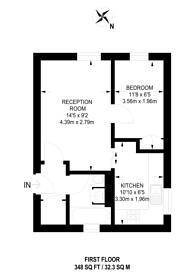 Large floorplan for Southbridge Road, Croydon, CR0
