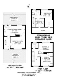 Large floorplan for Arundel Close, Forest Gate, E15