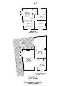 Large floorplan for Myrtle Road, Poet's Corner, W3