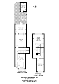 Large floorplan for Pitfield Way, Wembley, NW10